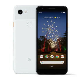 【SIMロック解除済】docomo Google Pixel3a G020H [Clearly White 64GB] Google 当社3ヶ月間保証 中古 【 中古スマホとタブレット販売のイオシス 】