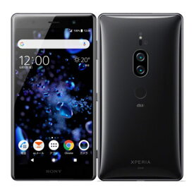 【SIMロック解除済】au Sony Xperia XZ2 Premium SOV38 Chrome Black SONY 当社3ヶ月間保証 中古 【 中古スマホとタブレット販売のイオシス 】