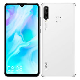 Y!mobile HUAWEI P30 lite MAR-LX2J Pearl White Huawei 当社6ヶ月保証 未使用 【 中古スマホとタブレット販売のイオシス 】