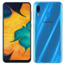 Galaxy A30 SCV43 ブルー 【J:COM版 SIMFREE】 SAMSUNG 当社3ヶ月間保証 中古 【 中古スマホとタブレット販売のイオシス 】