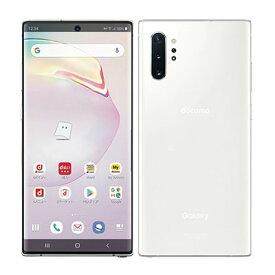 【SIMロック解除済】docomo Galaxy Note10+ (Plus) SC-01M Aura White SAMSUNG 当社3ヶ月間保証 中古 【 中古スマホとタブレット販売のイオシス 】