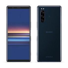 Sony Xperia5 Dual J9210 [Blue 6GB 128GB 海外版 SIMフリー] SONY 当社3ヶ月間保証 中古 【 中古スマホとタブレット販売のイオシス 】