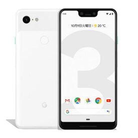 【SIMロック解除済】 docomo Google Pixel3 XL G013D [Clearly White 128GB] Google 当社3ヶ月間保証 中古 【 中古スマホとタブレット販売のイオシス 】