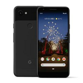 Google Pixel3a XL G020D Just Black【64GB 国内版 SIMフリー】 Google 当社3ヶ月間保証 中古 【 中古スマホとタブレット販売のイオシス 】