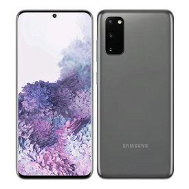 SIMフリー 未使用 Samsung Galaxy S20 5G Dual-SIM SM-G9810【Cosmic Gray 12GB 128GB 海外版 SIMフリー】【ACアダプタ欠品】【当社6ヶ月保証】 スマホ 中古 本体 送料無料【中古】 【 中古スマホとタブレット販売のイオシス 】