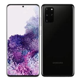 SIMフリー 未使用 Samsung Galaxy S20+(Plus) 5G Dual-SIM SM-G9860【Cosmic Black 12GB 128GB 海外版 SIMフリー】【ACアダプタ欠品】【当社6ヶ月保証】 スマホ 中古 本体 送料無料【中古】 【 中古スマホとタブレット販売のイオシス 】