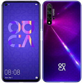 Huawei nova 5T YAL-L21 Midsummer Purple【国内版 SIMフリー】 Huawei 当社3ヶ月間保証 中古 【 中古スマホとタブレット販売のイオシス 】
