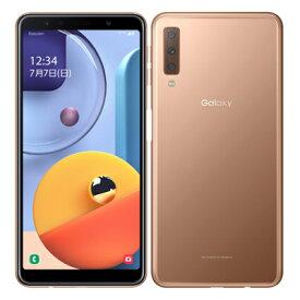 Samsung Galaxy A7 SM-A750C Gold 【楽天版 SIMフリー】 SAMSUNG 当社3ヶ月間保証 中古 【 中古スマホとタブレット販売のイオシス 】