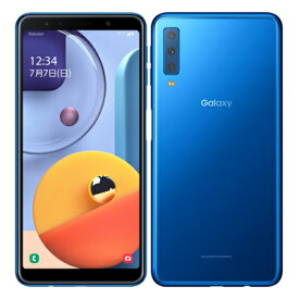Samsung Galaxy A7 SM-A750C Blue 【楽天版 SIMフリー】 SAMSUNG 当社3ヶ月間保証 中古 【 中古スマホとタブレット販売のイオシス 】