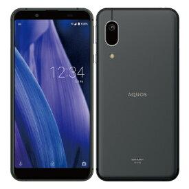 AQUOS sense3 basic SHV48 Black【UQmobile版 SIMフリー】 SHARP 当社6ヶ月保証 未使用 【 中古スマホとタブレット販売のイオシス 】