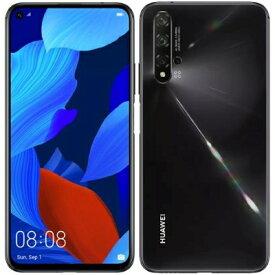 Huawei nova 5T YAL-L21 Black【国内版 SIMフリー】 Huawei 当社3ヶ月間保証 中古 【 中古スマホとタブレット販売のイオシス 】