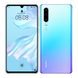 HUAWEI P30 ELE-L29 Breathing Crystal【国内版 SIMフリー】 Huawei 当社3ヶ月間保証 中古 【 中古スマホとタブレット販売のイオシス 】