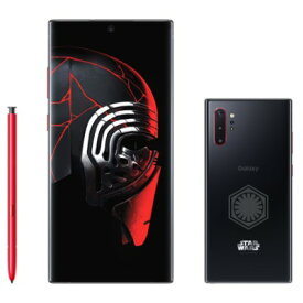 【SIMロック解除済】【ネットワーク利用制限▲】docomo Galaxy Note10+ (Plus) Star Wars Special Edition SC-01M Aura Black SAMSUNG 当社3ヶ月間保証 中古 【 中古スマホとタブレット販売のイオシス 】