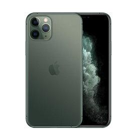 【SIMロック解除済】docomo iPhone11 Pro A2215 (MWC62J/A) 64GB ミッドナイトグリーン Apple 当社6ヶ月保証 未使用 【 中古スマホとタブレット販売のイオシス 】