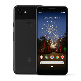 【SIMロック解除済】docomo Google Pixel3a G020H [Just Black 64GB] Google 当社3ヶ月間保証 中古 【 中古スマホとタブレット販売のイオシス 】
