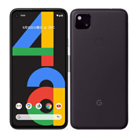 Google Pixel4a LTE G025M 128GB Just Black【国内版 SIMフリー】 Google 当社3ヶ月間保証 中古 【 中古スマホとタブレット販売のイオシス 】