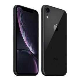 【SIMロック解除済】【ネットワーク利用制限▲】docomo iPhoneXR A2106 (MT0G2J/A) 128GB ブラック Apple 当社3ヶ月間保証 中古 【 中古スマホとタブレット販売のイオシス 】