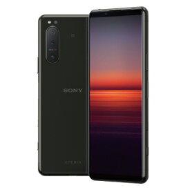 Sony Xperia5 5G Dual-SIM XQ-AS72 Black【RAM8GB ROM256GB/海外版SIMフリー】【ACアダプタ欠品】 SONY 当社6ヶ月保証 未使用 【 中古スマホとタブレット販売のイオシス 】