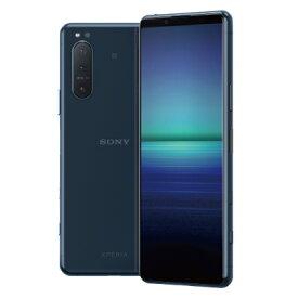 Sony Xperia5 5G Dual-SIM XQ-AS72 Blue【RAM8GB ROM256GB/海外版SIMフリー】【ACアダプタ欠品】 SONY 当社6ヶ月保証 未使用 【 中古スマホとタブレット販売のイオシス 】