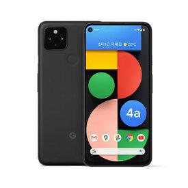 【SIMロック解除済】Softbank Google Pixel4a 5G G025H 128GB Just Black Google 当社6ヶ月保証 未使用 【 中古スマホとタブレット販売のイオシス 】