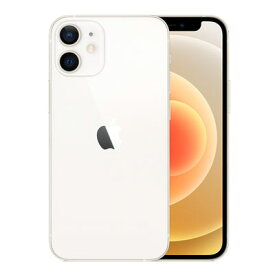 【SIMロック解除済】docomo iPhone12 mini A2398 (MGA63J/A) 64GB ホワイト Apple 当社6ヶ月保証 未使用 【 中古スマホとタブレット販売のイオシス 】