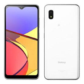Galaxy A21 SCV49 White【UQmobile版 SIMフリー】 SAMSUNG 当社6ヶ月保証 未使用 【 中古スマホとタブレット販売のイオシス 】