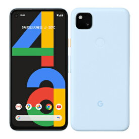 Google Pixel4a LTE G025M 128GB Barely Blue【国内版 SIMフリー】 Google 当社3ヶ月間保証 中古 【 中古スマホとタブレット販売のイオシス 】