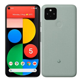 Google Pixel5 G5NZ6 128GB Sorta Sage【国内版 SIMフリー】 Google 当社3ヶ月間保証 中古 【 中古スマホとタブレット販売のイオシス 】