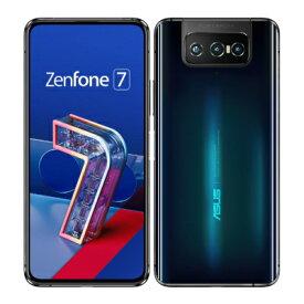 ASUS ZenFone7 5G ZS670KS Aurora Black【海外版 SIMフリー】 ASUS 当社3ヶ月間保証 中古 【 中古スマホとタブレット販売のイオシス 】