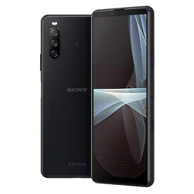 Sony Xperia10 III 5G Dual-SIM XQ-BT52 Black【RAM6GB ROM128GB/海外版SIMフリー】【ACアダプタ欠品】 SONY 当社6ヶ月保証 未使用 【 中古スマホとタブレット販売のイオシス 】