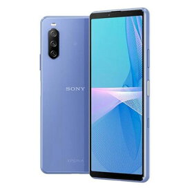 Sony Xperia10 III 5G Dual-SIM XQ-BT52 Blue【RAM6GB ROM128GB/海外版SIMフリー】【ACアダプタ欠品】 SONY 当社6ヶ月保証 未使用 【 中古スマホとタブレット販売のイオシス 】
