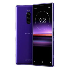 Sony Xperia1 Dual J9110 JP/V Purple【6GB 128GB 国内版 SIMフリー】 SONY 当社3ヶ月間保証 中古 【 中古スマホとタブレット販売のイオシス 】
