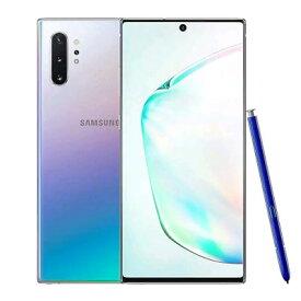 Samsung Galaxy Note10+(Plus) 5G Single SIM SM-N976N【Aura Glow/12GB/256GB/韓国版】 SAMSUNG 当社3ヶ月間保証 中古 【 中古スマホとタブレット販売のイオシス 】