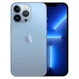 iPhone13 Pro A2639 (MLT83ZA/A) 128GB シエラブルー【香港版 SIMフリー】 Apple 当社6ヶ月保証 未使用 【 中古スマホとタブレット販売のイオシス 】