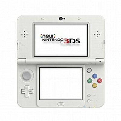 【送料無料】当社1ヶ月間保証[未使用品]■Nintendo New NINTENDO 3DS [ホワイト]中古【中古】 【 中古スマホとタブレット販売のイオシス 】