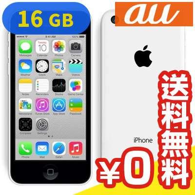 白ロム au iPhone5c 16GB [ME541J/A] White[中古Bランク]【当社1ヶ月間保証】 スマホ 中古 本体 送料無料【中古】 【 中古スマホとタブレット販売のイオシス 】