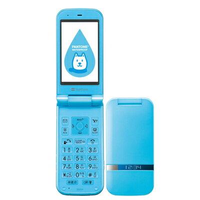 白ロム SoftBank PANTONE WATERPROOF 202SH ブルー[中古Bランク]【当社3ヶ月間保証】 ガラケー 中古 本体 携帯電話 送料無料【中古】 【 中古スマホとタブレット販売のイオシス 】