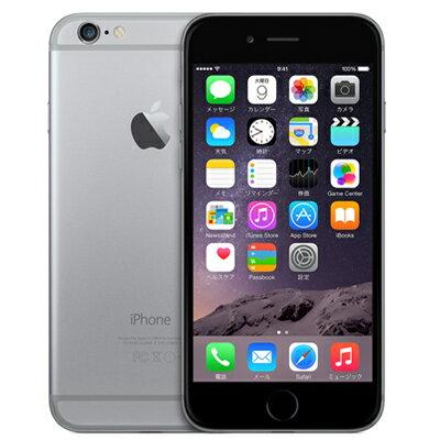 白ロム SoftBank iPhone6 16GB A1586 (MG472J/A) スペースグレイ[中古Cランク]【当社3ヶ月間保証】 スマホ 中古 本体 送料無料【中古】 【 中古スマホとタブレット販売のイオシス 】