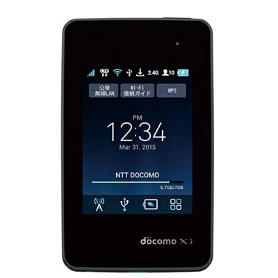 白ロム Wi-Fi STATION L-01G Black[中古Cランク]【当社1ヶ月間保証】 モバイルルーター docomo 中古 本体 送料無料【中古】 【 中古スマホとタブレット販売のイオシス 】