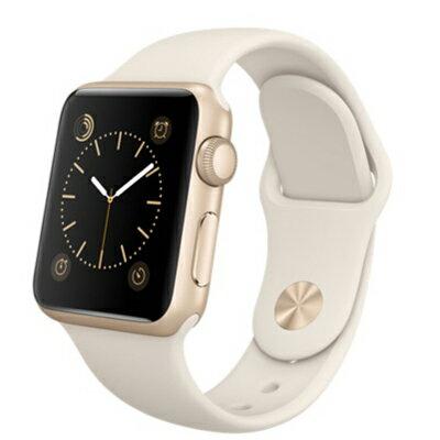【送料無料】当社1ヶ月間保証[中古Bランク]■Apple Apple Watch Sport 38mm (MLCJ2J/A) 【アンティークホワイトスポーツバンド】【周辺機器】中古【中古】 【 中古スマホとタブレット販売のイオシス 】