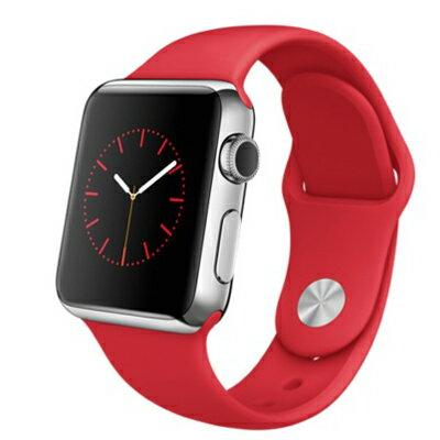 【送料無料】当社1ヶ月間保証[未使用品]■Apple Apple Watch 38mm (MLLD2J/A) 【ステンレススチール/(PRODUCT)レッドスポーツバンド】【周辺機器】中古【中古】 【 中古スマホとタブレット販売のイオシス 】