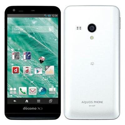 白ロム docomo AQUOS PHONE EX SH-02F White[中古Cランク]【当社1ヶ月間保証】 スマホ 中古 本体 送料無料【中古】 【 中古スマホとタブレット販売のイオシス 】
