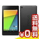 SIMフリー 【再生品】Google Nexus7 K009 (ME571-LTE) 32GB Black【2013 LTE版 SIMフリー】[中古Bランク]【...