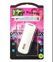 マルチカードリーダーWHITE(SD/microSD/メモリースティック/MSPD/M2に対応!USBメモリサイズ)