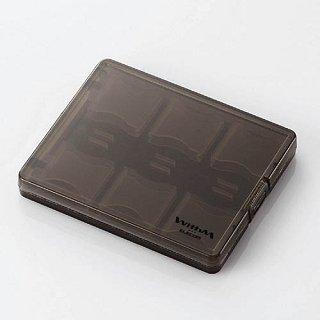 ELECOM CMC-06SD(12枚収納可能!中身が見えるポリプロピレン製SDカードケース)