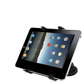 ダッシュボードなどに【吸盤式タブレットスタンド x2点セット】iPadやAndroidタブレットなどをしっかり固定