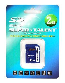 3年保証・2GB【SDカードST02SD】スーパータレント日本語パッケージ