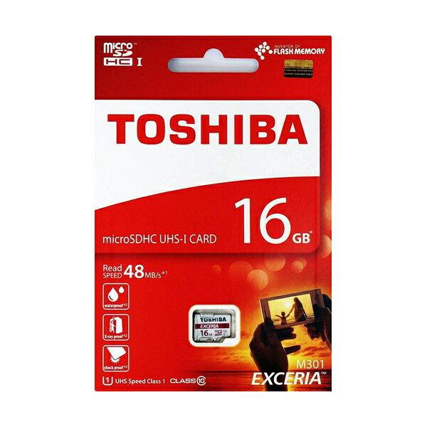 東芝16GB【microSDHCカードTHN-M301R0160A4】EXCERIA・Read=48MB/s