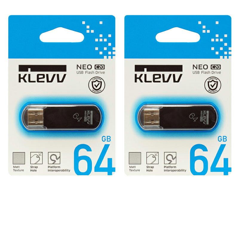 ESSENCORE 64GB【USBメモリU064GUR2-NB x2個セット】フラッシュ世界2位Hynixグループ生産