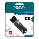 KINGMAX5年保証!128GB【USBメモリKM128GMB03B】USB3.0対応・キャップ付